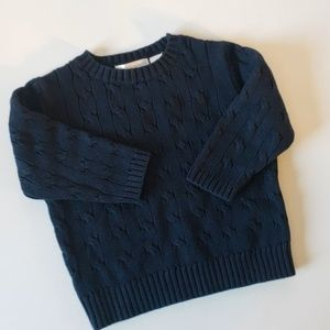 Lord and Taylor baby toddler cable knit sweater
